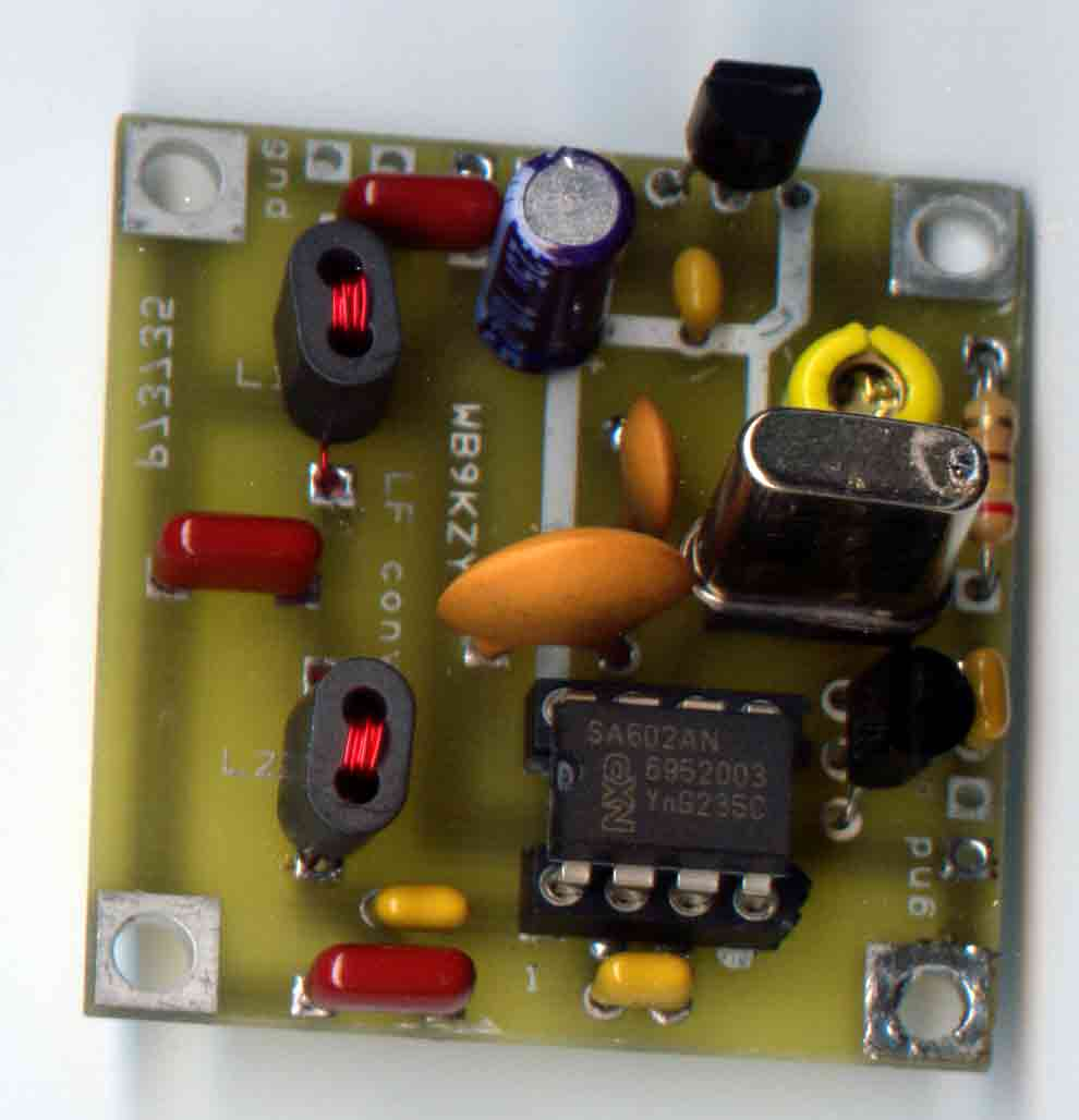 [LF Converter circuit board picture - click for larger view of board ]